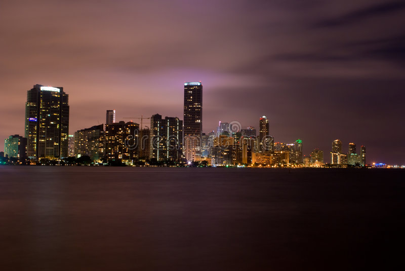 Download Miami (night) Royalty Free Stock Images - Image: 7157179