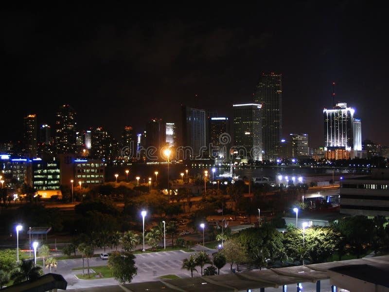 Miami Night stock photos