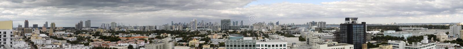Miami Panorama Stock Photo