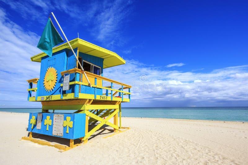 Miami plaża Floryda zdjęcie stock