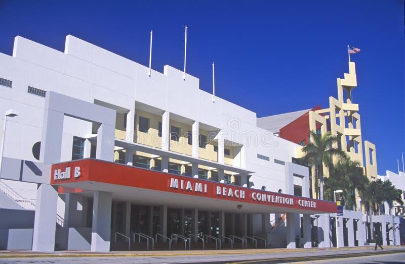 Miami plaży convention center, Miami, Floryda zdjęcia royalty free
