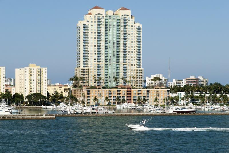 Miami plaży wody transport fotografia royalty free