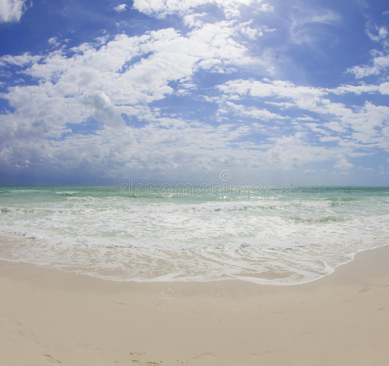 Miami's South Beach stock image