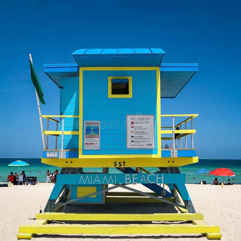 Miami-Schwingungen lizenzfreie stockfotos