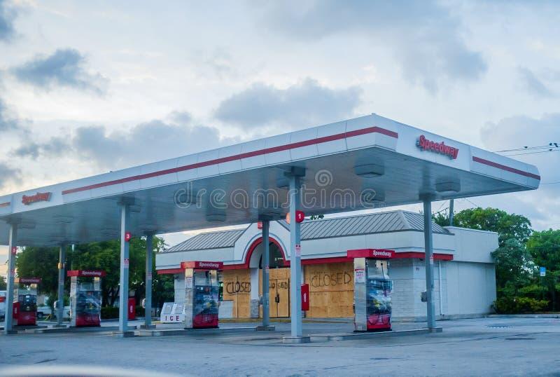 Miami before Hurricane Irene royalty free stock photography