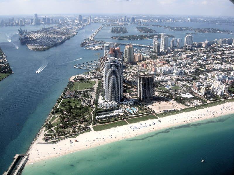 Miami Skyline royalty free stock photos