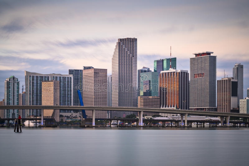 Download Miami Skyline stock photo. Image of panorama, dade, jungle - 36645670