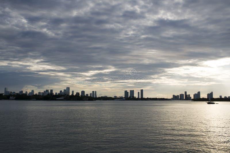Miami-Stadtbild stockbild