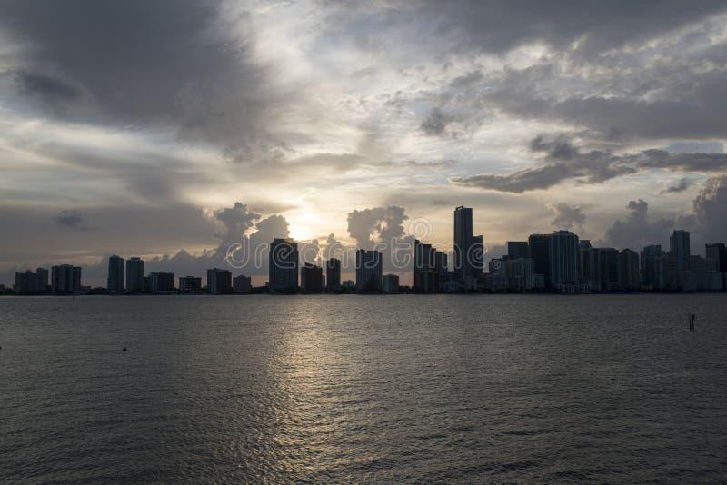 Miami-Stadtbild stockfoto