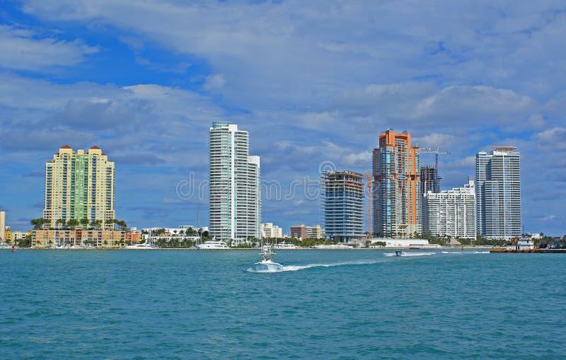 Miami strand royalty-vrije stock fotografie
