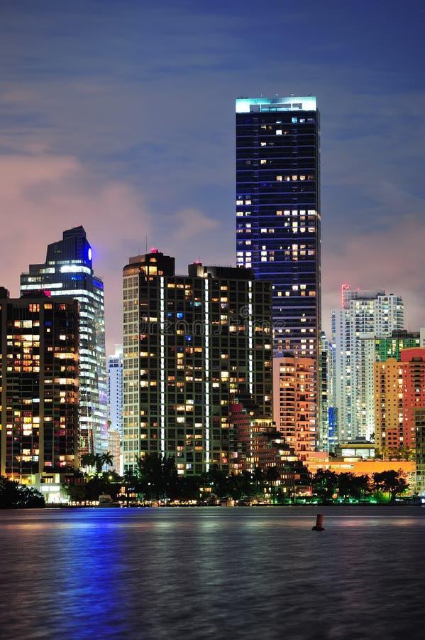 Miami urban architecture royalty free stock photography