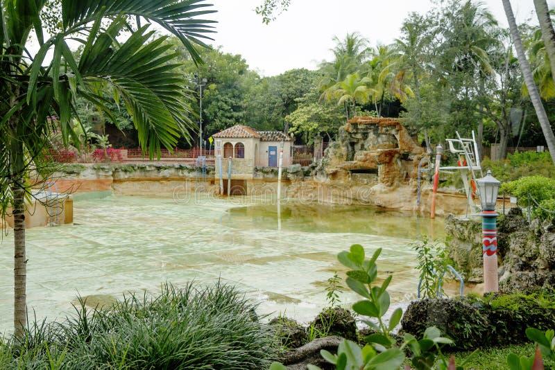 Miami Usa Venetian Pool In Coral Gables Stock Photo Image Of Town Miami 106720380