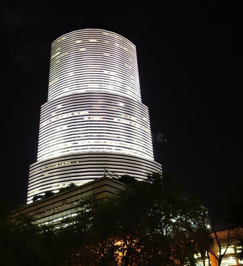 Miami van de binnenstad Brickell stock foto