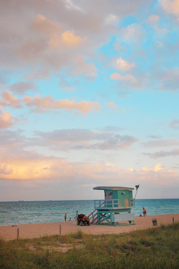 Miami View royalty free stock image