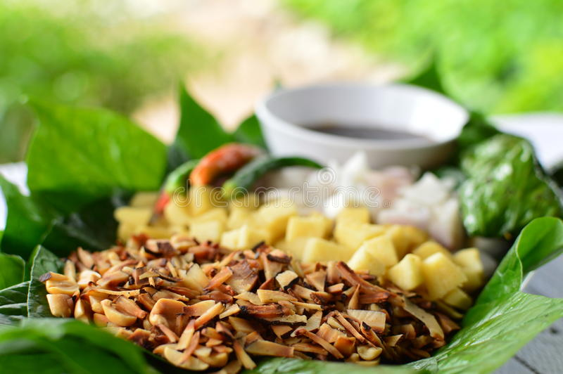 Miang Kam-thaifood photos stock