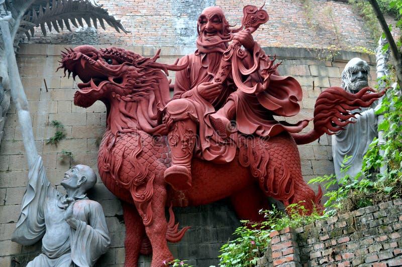 Download Mianyang, China: Terra Cotta Temple Warrior Stock Image - Image: 16662111