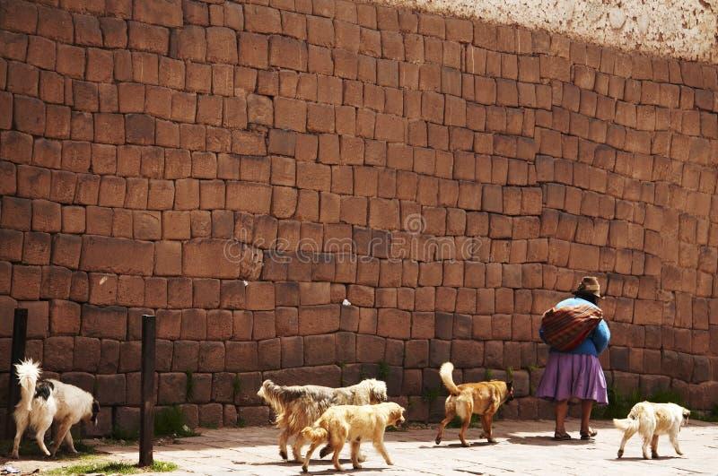miast peruvian street zdjęcie stock