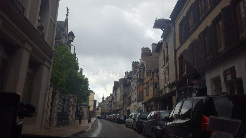 miasta †‹â€ ‹Troyes Francja zdjęcia stock