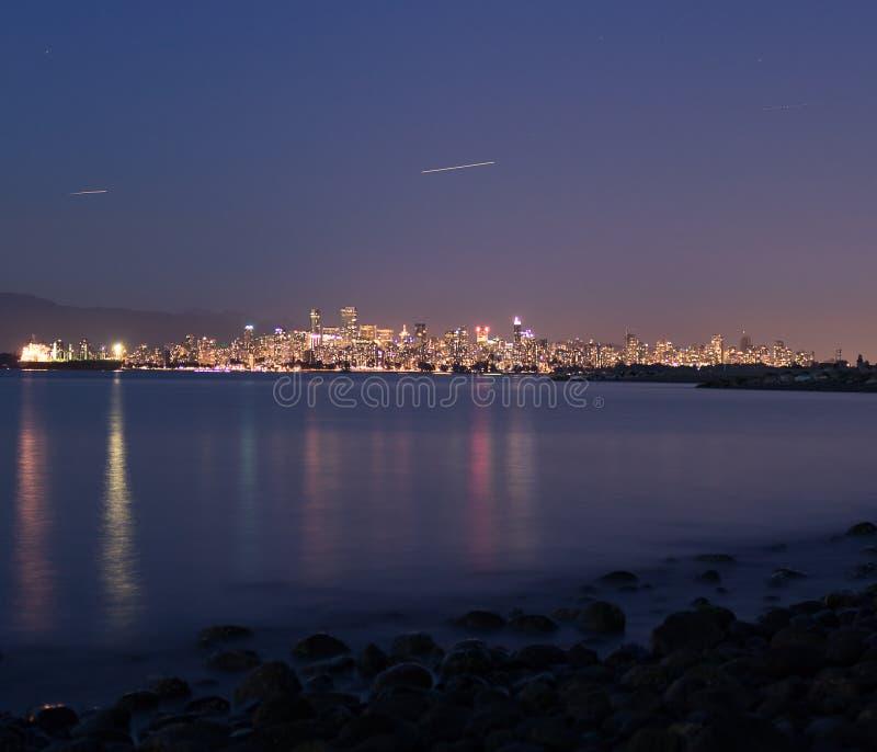 miasta świateł obraz royalty free