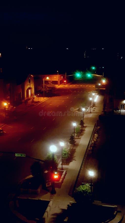 miasta świateł fotografia stock