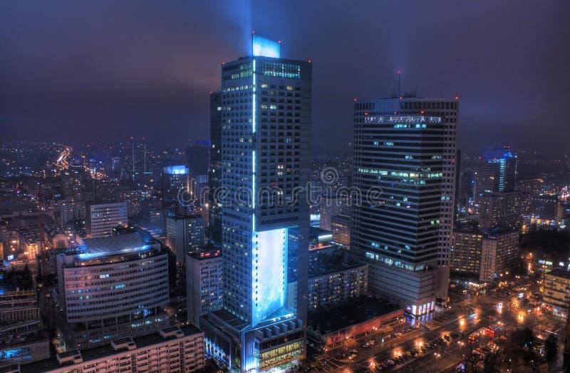 miasta życia noc zdjęcia stock