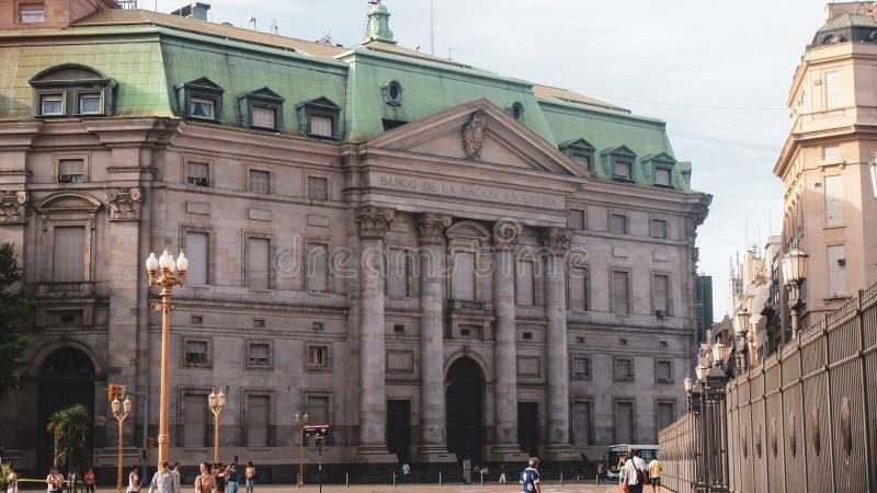 Miasta życie i ulica widok w Buenos Aires zdjęcie royalty free