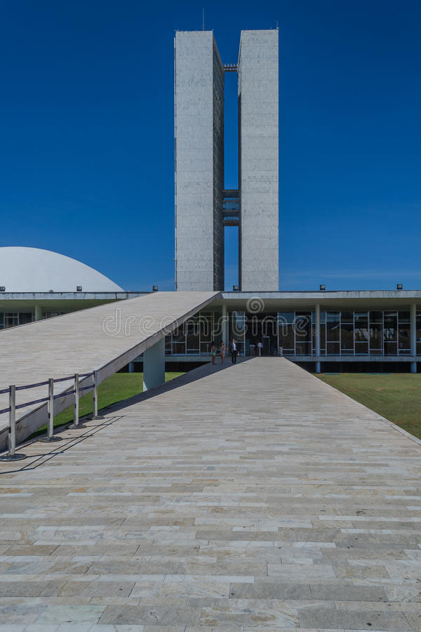 Miasta Brazylia, Brasilia, Brazylia kapitał - obrazy stock
