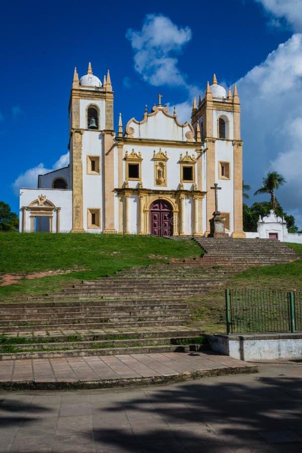 Miasta Brazylia, Olinda -, Pernambuco stan fotografia stock
