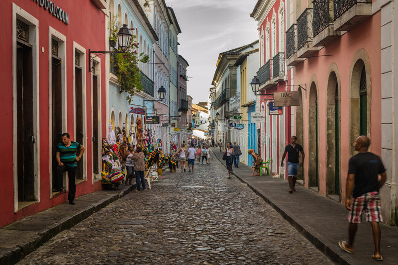 Miasta Brazylia, Salvador -, Bahia fotografia stock