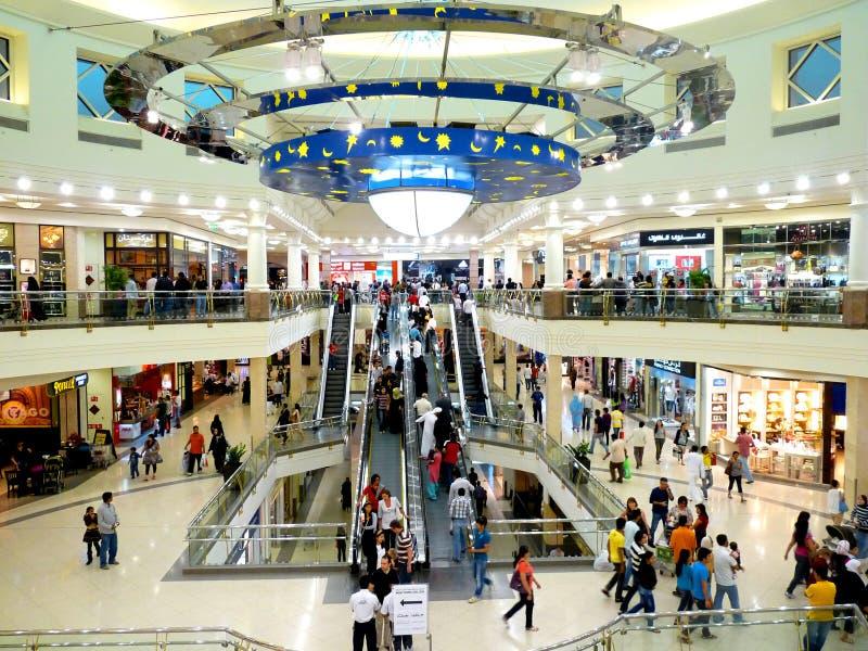 miasta centrum deira Dubai obrazy stock
