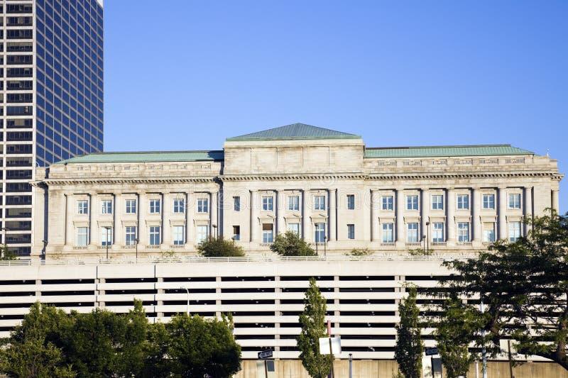 miasta Cleveland sala zdjęcia stock