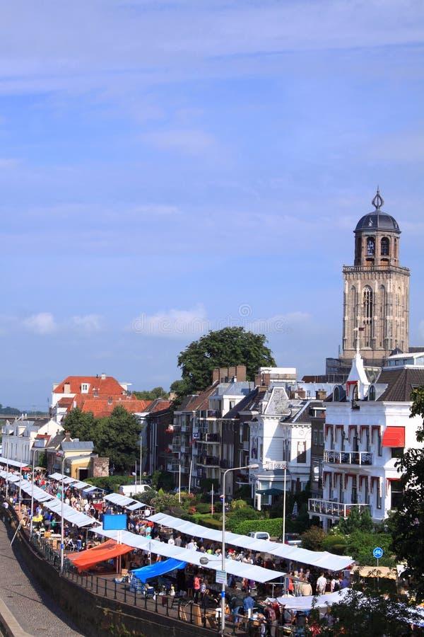 miasta deventer holender zdjęcia stock