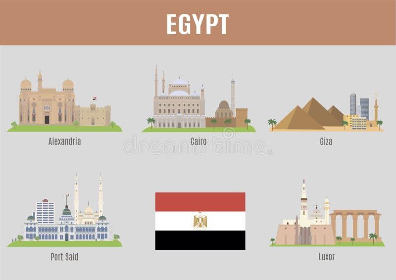 Miasta Egipt