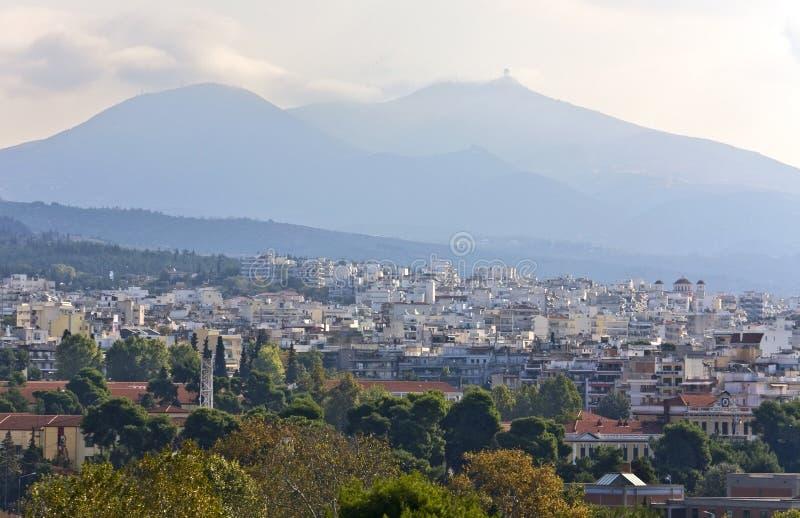 miasta Greece Thessaloniki widok obrazy stock
