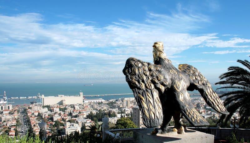 miasta Haifa panorama fotografia royalty free