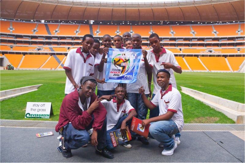 miasta Johannesburg piłka nożna zdjęcia stock