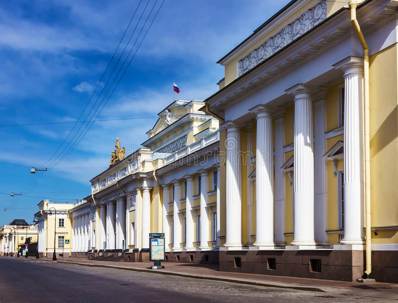 miasta krajobrazowy muzealny Petersburg Russia rosjanin Mikhailovsky pałac saint petersburg zdjęcie royalty free