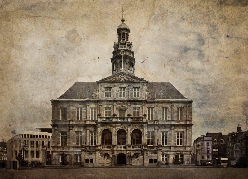 miasta Maastricht holandie fotografia royalty free