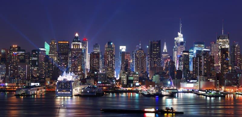 miasta Manhattan nowa linia horyzontu York fotografia stock