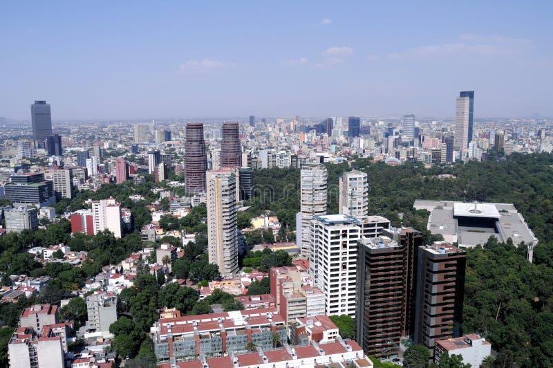 miasta Mexico linia horyzontu obrazy stock