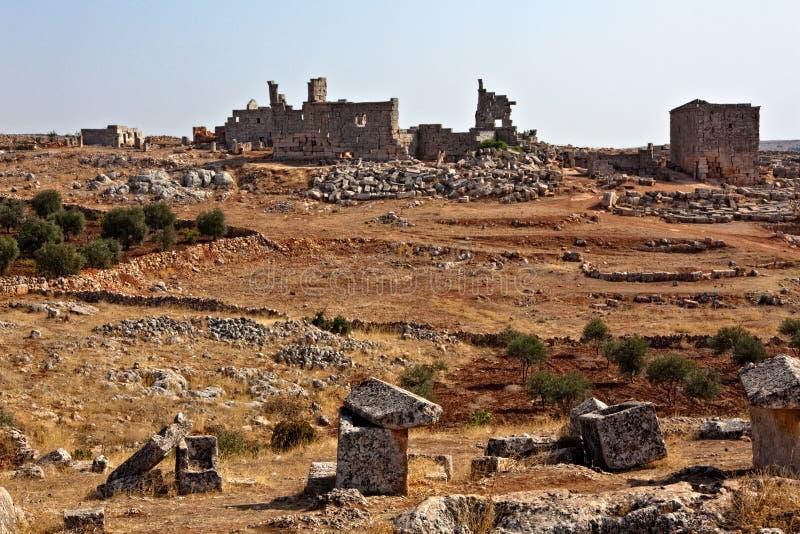 miasta nieżywy Syria obrazy stock
