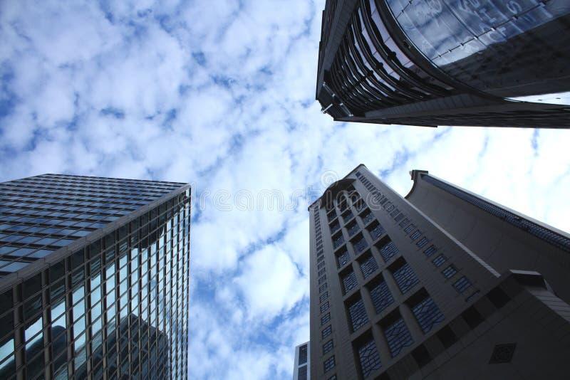 miasta niebo obrazy royalty free