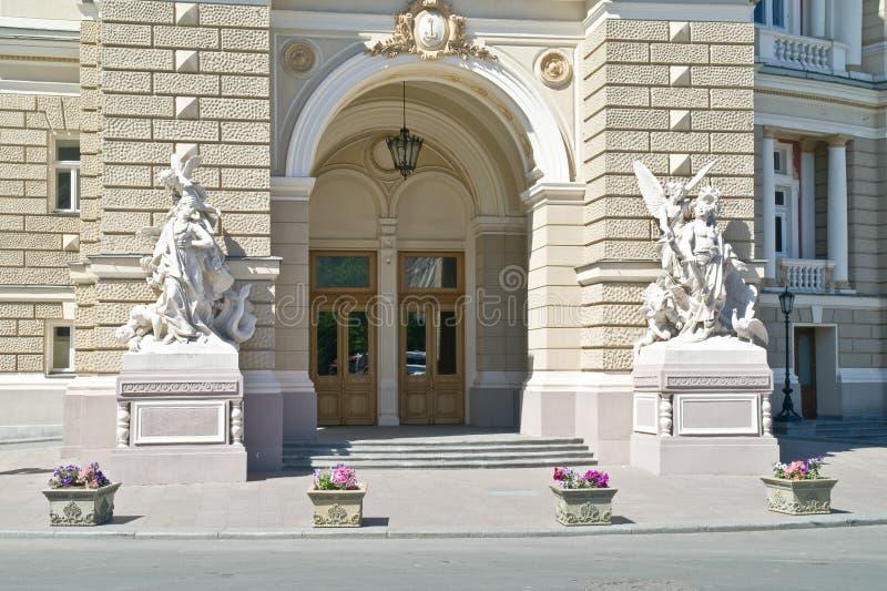 miasta Odessa opery teatr zdjęcie stock