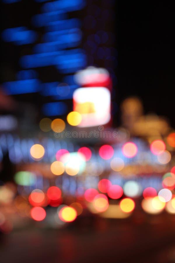 miasta półksiężyc noc deszcz obrazy stock