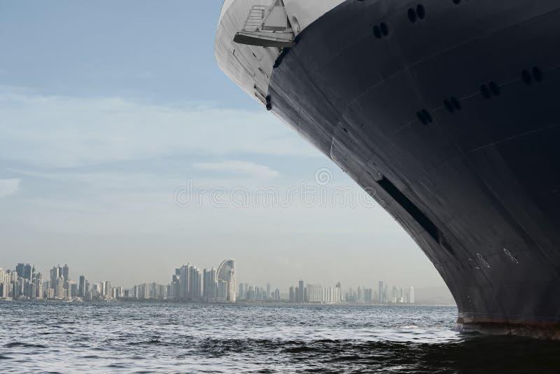 miasta Panama linia horyzontu obraz stock