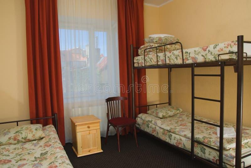 miasta pokoju hotelu widok obraz royalty free