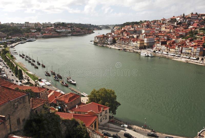 miasta pradawnych Porto Portugal widok zdjęcie stock