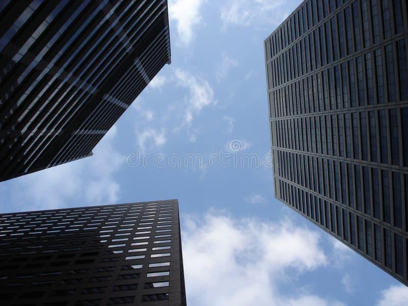miasta sky fotografia stock