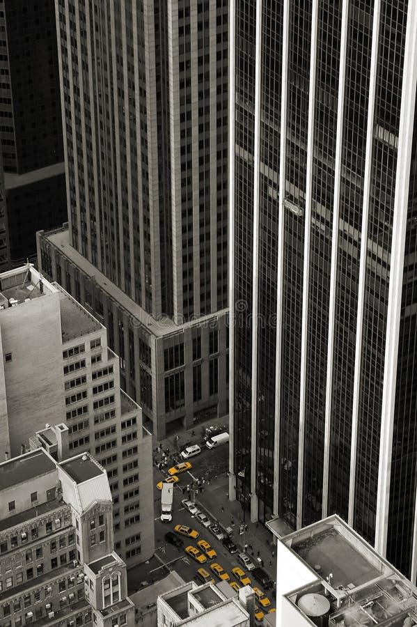 miasta taxi obrazy stock