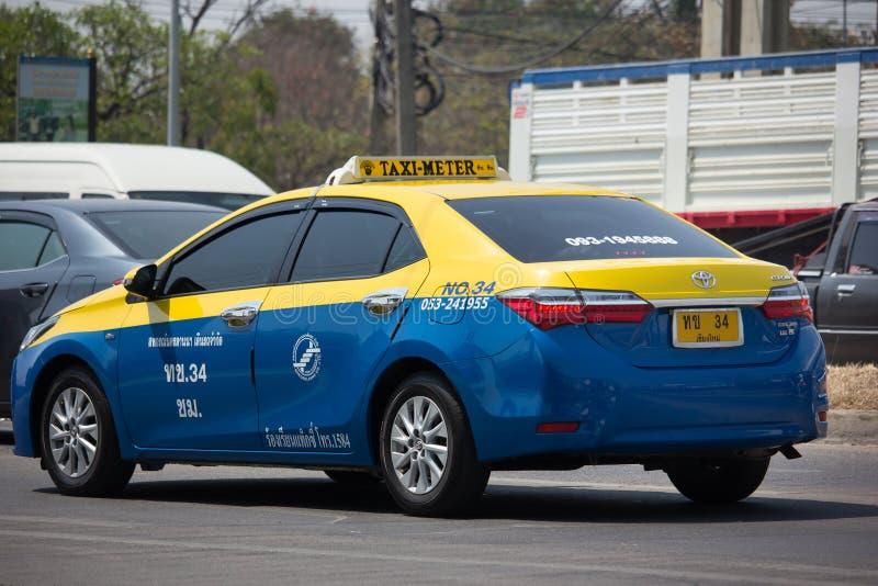 Miasta taxi chiangmai zdjęcia stock